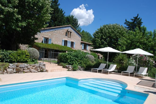 Stone house Canton-de-Fayence-8 rooms  1961