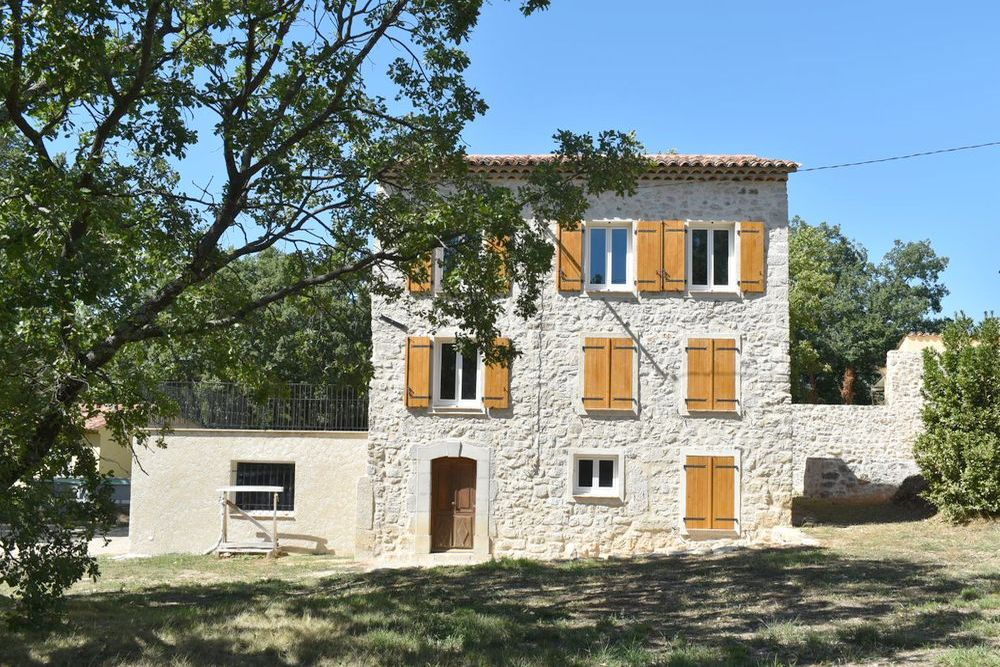 Stone house 5 rooms Canton de Fayence-2575